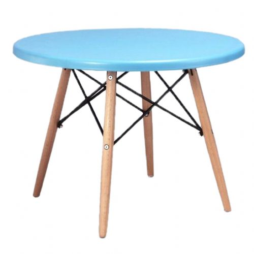 Child's Eiffel Round Table, Blue  60cm